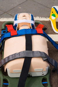 Patient moving course dummy